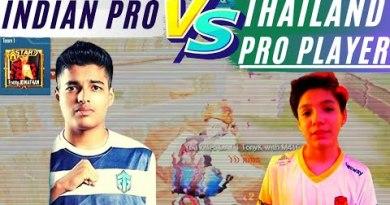 JONATHAN Vs Thailand Legitimate Kid TonyK | INDIA VS THAILAND Pubg Cell TDM