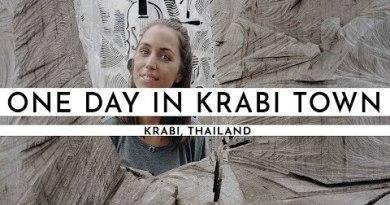 EXPLORING KRABI TOWN AND GOING TO KOH LANTA   TRAVEL VLOG #1