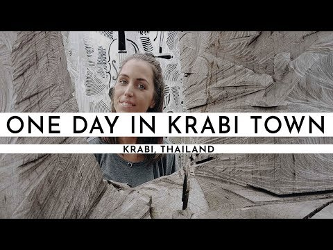 EXPLORING KRABI TOWN AND GOING TO KOH LANTA | TRAVEL VLOG #1
