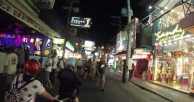 Pattaya Walking Road – March 2017