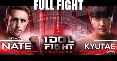 My Mate Nate vs Kyutae Oppa | FULL FIGHT | IDOL FIGHT THAILAND