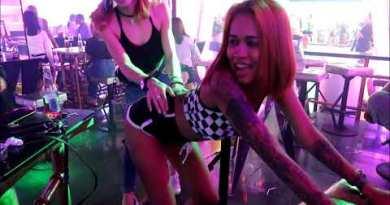 Candy shop and 808 disco club-Strolling boulevard Pattaya