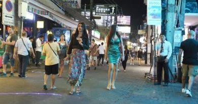 2020 March Scenes after 2:00am in Strolling Avenue and additional in Pattaya