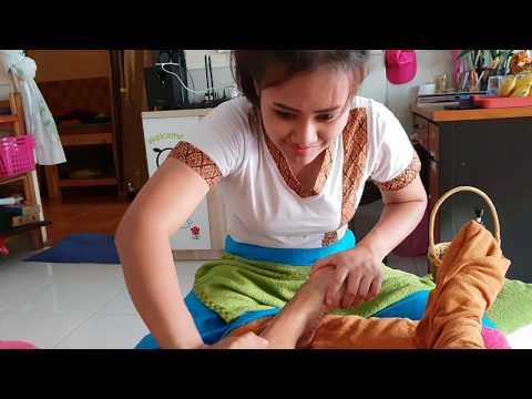 foot massage in Pattaya, Thailand   ASMR massage