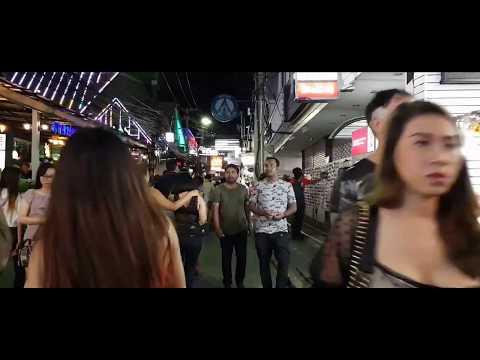 PATTAYA WALKING STREET NIGHTLIFE ROUND 1