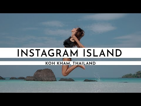 A SLICE OF PARADISE ON KOH KHAM | THIS IS INSTAGRAM ISLAND! | TRAVEL VLOG #Forty five