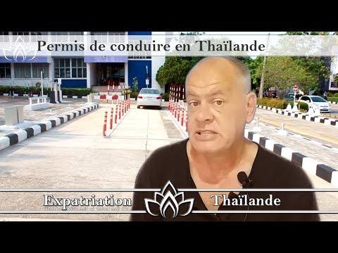 Permis de conduire en Thailande