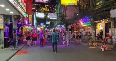 Strolling Avenue Pattaya March 2020