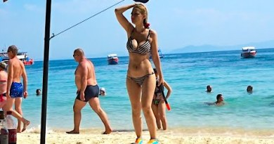 Girls, Sun & Sand   Koh Larn's Monkey Shoreline, Pattaya 🇹🇭
