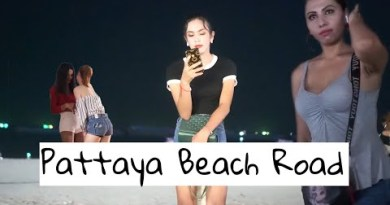 Pattaya Seaside Boulevard Nightlife – Ladies Ready For Customers