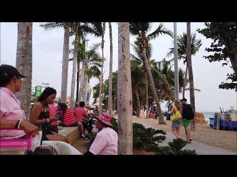 Pattaya Shut Down Second Day Jomtien Coastline