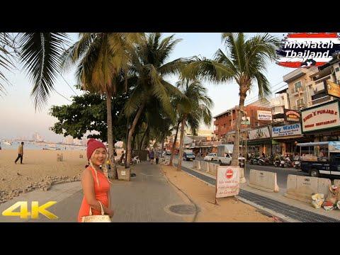 Pattaya's Beach Avenue and Freelancers #5 [4K]