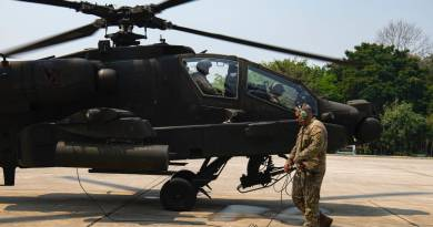 Thailand Meet the troopers who preserve the Apache assault helicopter flying at some point soon of Exercise Cobra Gold in Thailand