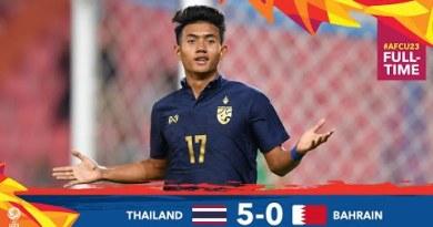 #AFCU23 M01 – THAILAND 5 – 0  BAHRAIN – HIGHLIGHTS