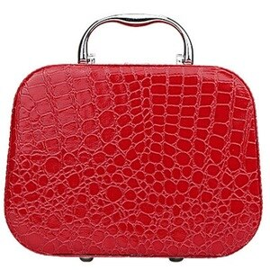 Cosmetic Bag 1 PC Makeup Storage Bag Case Fashion Pencil Case for Makeup Brush Leather Travel Cosmetic Bags