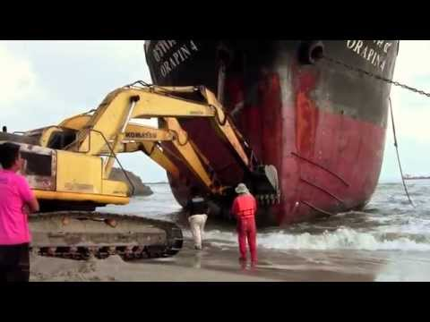 Oil Tanker Orapin 4, Salvage Operation in Thailand