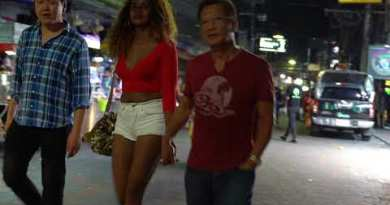 After 02:00am in Walking Avenue, Pattaya and further Scenes