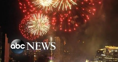 Fireworks in Thailand for the starting up of 2020 l ABC News