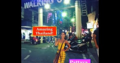 Walking boulevard Pattaya, Thailand