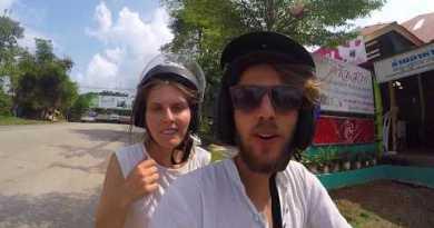 Mit dem Motorrad auf die Insel. KOH CHANG. Thailand. Weltreise Vlog 039