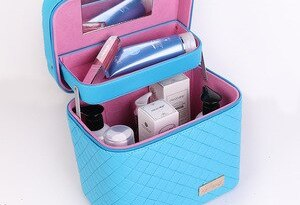Cosmetic case portable zipper cosmetic bag cosmetic toiletries waterproof ladies supplies bag