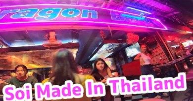 Pattaya Nightlife – Soi Made in Thailand Cozy Barbeer in Pattaya VLOG 019