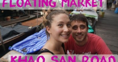 Bangkok – Khaosan Avenue & Floating Market – Thailand Vlog #3 | Digital Nomad Series #17