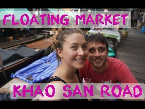 Bangkok – Khaosan Avenue & Floating Market – Thailand Vlog #3   Digital Nomad Series #17