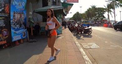 Seaside Avenue Pattaya Thailand 2020