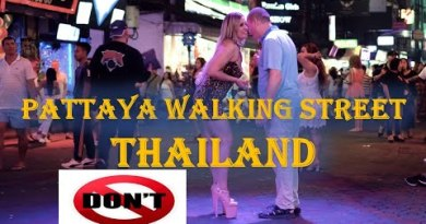 Pattaya Strolling Street |Evening Existence| Thailand- Issues to Attach & Don't