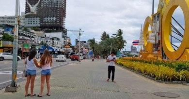 pattaya shoreline avenue stroll day