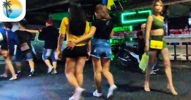 Walking Aspect motorway Ladies (4K) Pattaya Nightlife