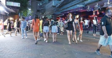Evening Life Scenes in Pattaya 2020