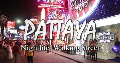 PATTAYA Nightlife | Walking Street | Thailand
