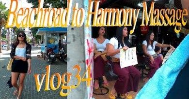 Pattaya , Sea gallop avenue to Concord Rubdown 2 *vlog34*