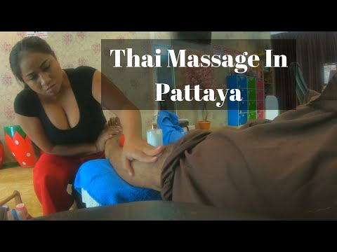 Thai Rub down In Pattaya Thailand II Foot Rub down Part 2