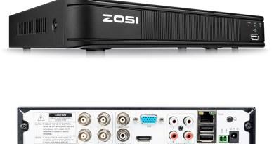 ZOSI 1080P 4CH TVI DVR AHD CVI TVI CVBS DVR 1920*1080 2MP CCTV Video Recorder Hybrid DVR videcam Security System