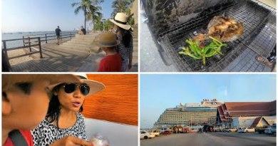 Pattaya Thailand Cruise Vlog Reduction to Laem Chabang