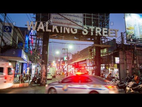 Walking road pattaya now 22 april 2020 (6:00 PM)