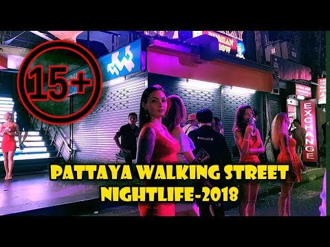 Pattaya Strolling Avenue Nightlife 2018 | Thailand Nightlife | Pattaya Gece Hayatı