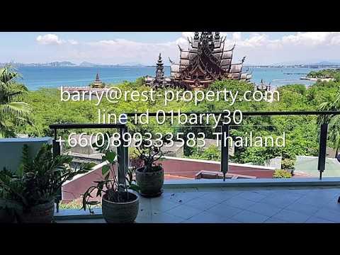 Pattaya The Sanctuary 2 mattress condo rent Luxurious