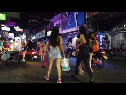 3.00 am on Walking Boulevard Pattaya Thailand – Produced mid March 2020