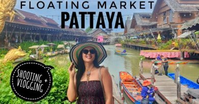Shooting At Floating Market of Pattaya | Thailand Vlog