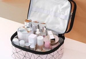Cosmetic Storage Bag Portable Multi-functional Large Capacity Storage Bag Travel Skin Care Cosmetic Cases