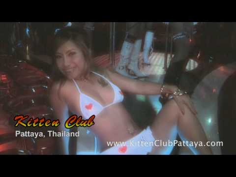 Handsome Lady of Kitten Club Pattaya A-Flow-Flow Bar near Walking Road in Pattaya, Thailand