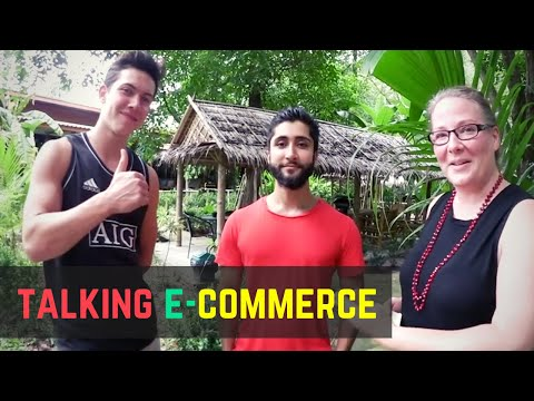 Speaking e-commerce with digital nomads in Thailand