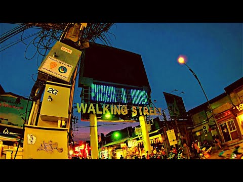 Pattaya, Strolling Road (NightTime)