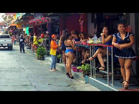 Soi 6 daylight, Pattaya, Thailand [4K] [2020]