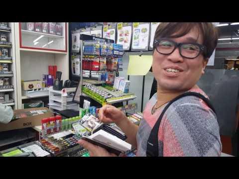 Korean procuring for cigarettes in 7 Eleven Thailand in Bangkok