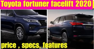 Toyota Fortuner facelift 2020 – Toyota Fortuner Legender – Fortuner facelift Thailand 2020
